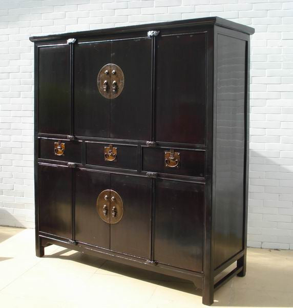 ... Antique Black Cabinet - Dyag East ... - Antique Black Cabinet, An Large Antique China Cabinet – Dyag East
