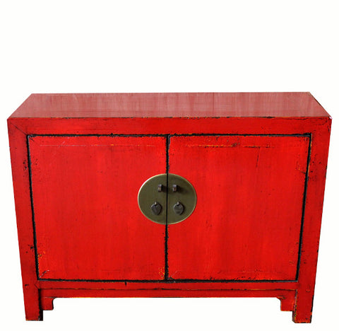 Red Chinese Cabinet - Dyag East