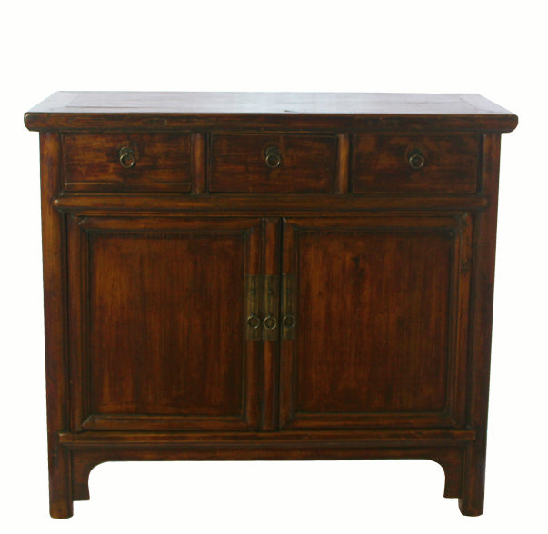 Countryside Three-Drawer Chinese Cabinet