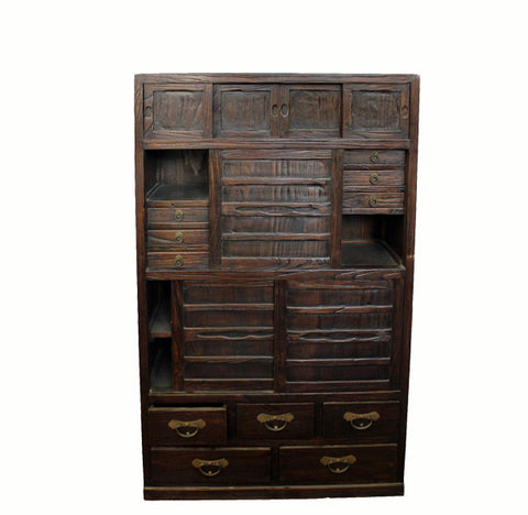 Japanese Kitchen Chest Tansu - Dyag East