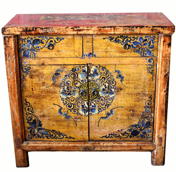 Z-Mongolian Theater Cabinet Table - Dyag East