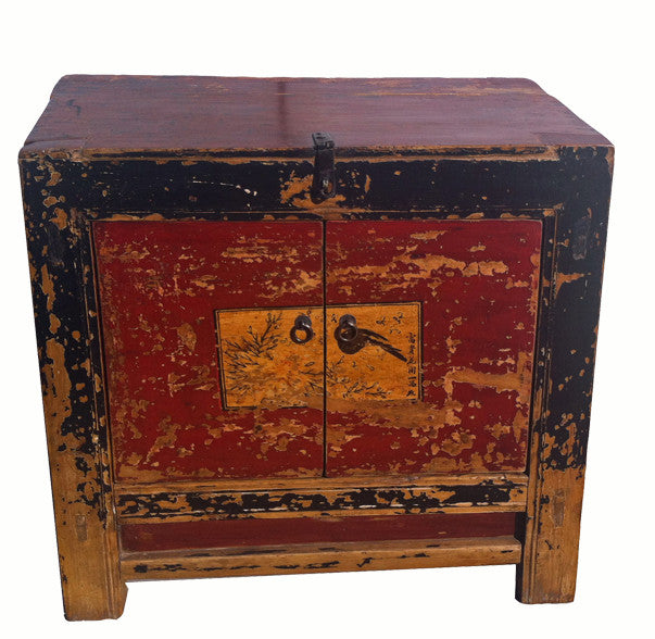Small Antique Cabinet with Beautiful Patina - Dyag East