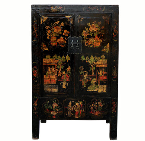 Antique Chinese Chinoiserie-Style Cabinet 2 - Dyag East