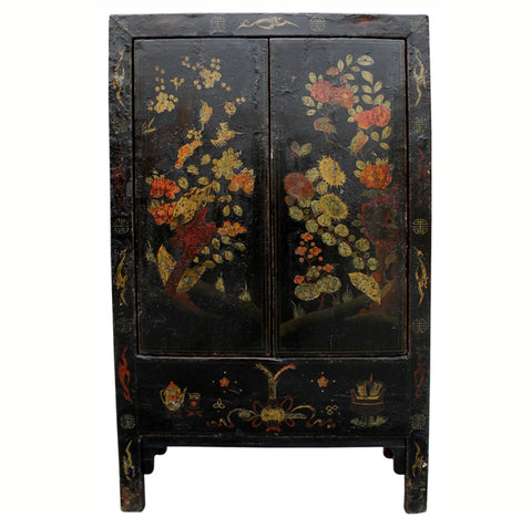 Antique Chinese Chinoiserie-Style Cabinet 3 - Dyag East