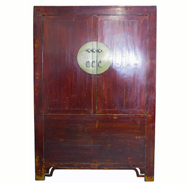 Large Antique Chinese Wedding Cabinet - Dyag East