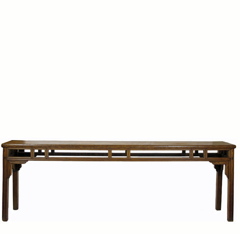 Z-Long Antique Farm Console Table - Dyag East