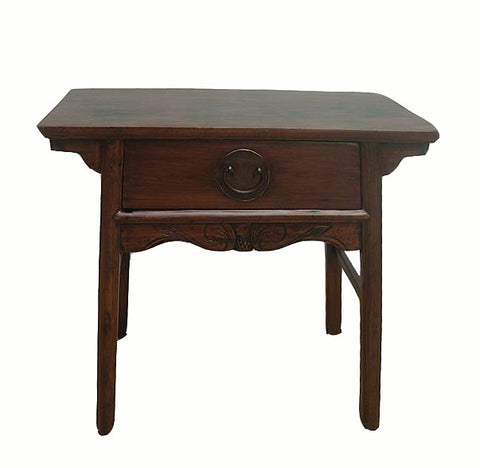 One Drawer Antique Console Table - Dyag East