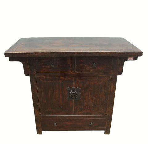 Z-Gansu Antique Chest Cabinet - Dyag East