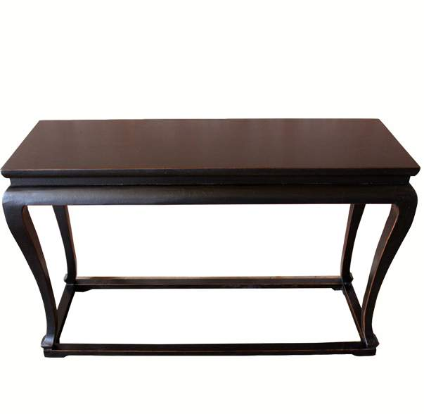 Antique Black Console