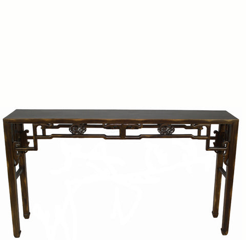 Carved Console Table - Dyag East