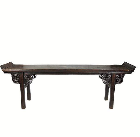 9 Feett Long Antique Chinese Altar Console Table