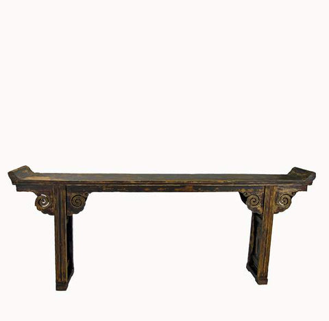 Antique Shanxi Phoenix Altar Table - Dyag East