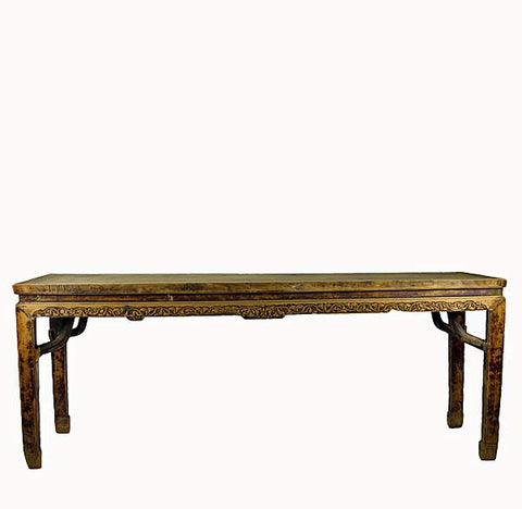 Antique Entryway Console Table - Dyag East