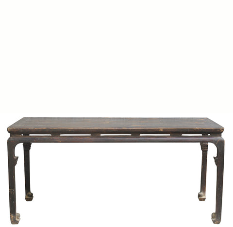 Rare Find Qing Painting Table - Dyag East