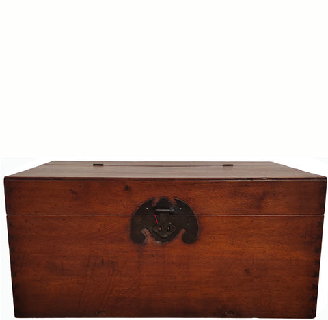 Beijing Antique Trunk with a Bat Lock