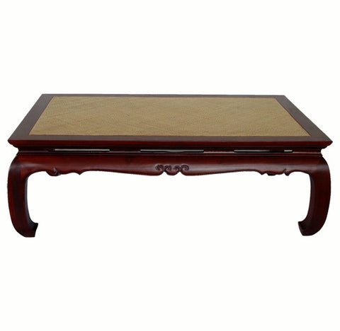 Ming Rattan Top Coffee Table - Dyag East