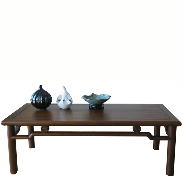 Modern Walnut Brown Ming Coffee Table - Dyag East