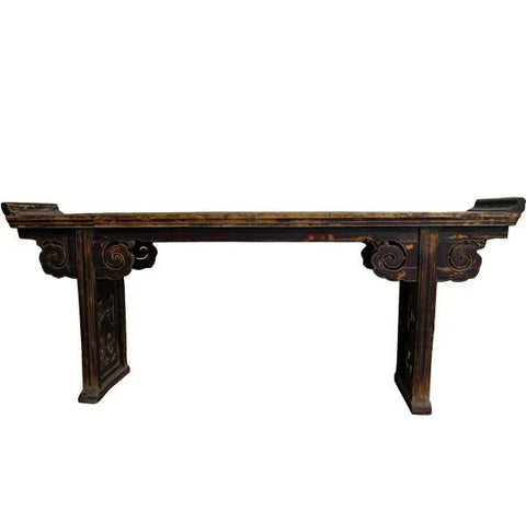 Z-Antique Altar Table with Everted Flanges - Dyag East
