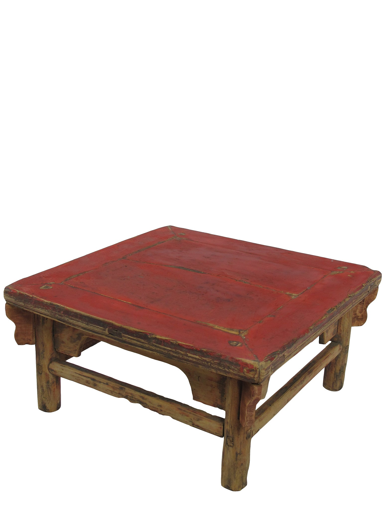 - Z-Low Square Red Top Accent Table Or Coffee Table – Dyag East
