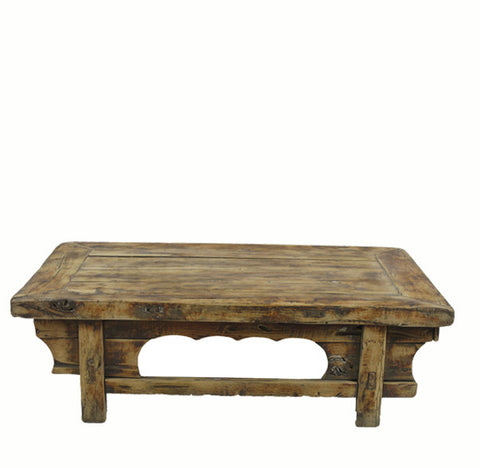 Low Rustic Accent Table or Coffee Table 1 - Dyag East
