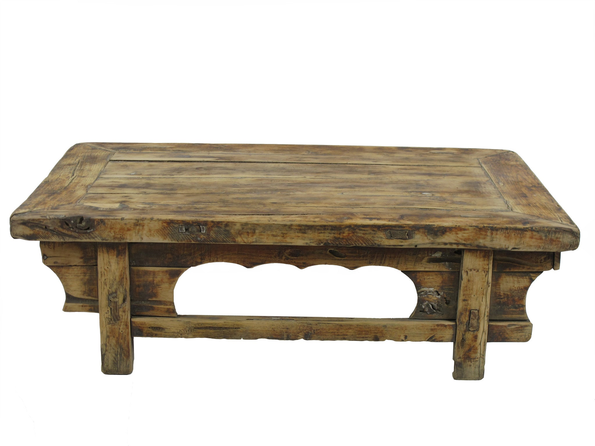 Low Rustic Accent Table Or Coffee Table 1 Dyag East