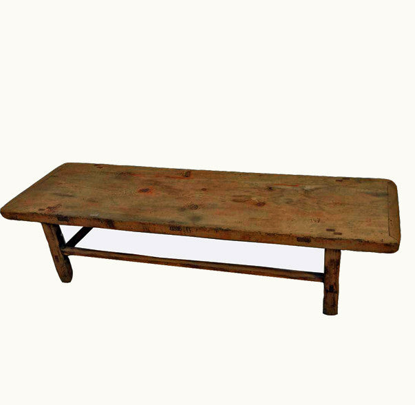 Z-Long Wood Farmer's Coffee Table - Dyag East