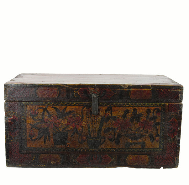 Hand Painted Gansu Trunk 1 - Dyag East