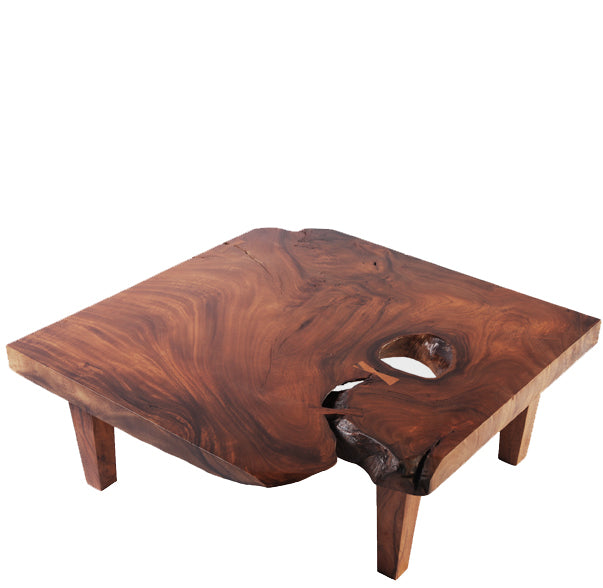 Square Living Edge Coffee Table - Dyag East