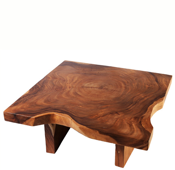 Z-Center Ring Living Edge Coffee Table - Dyag East