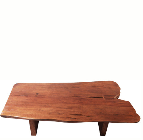 Natural Split End Living Edge Coffee Table 1 - Dyag East