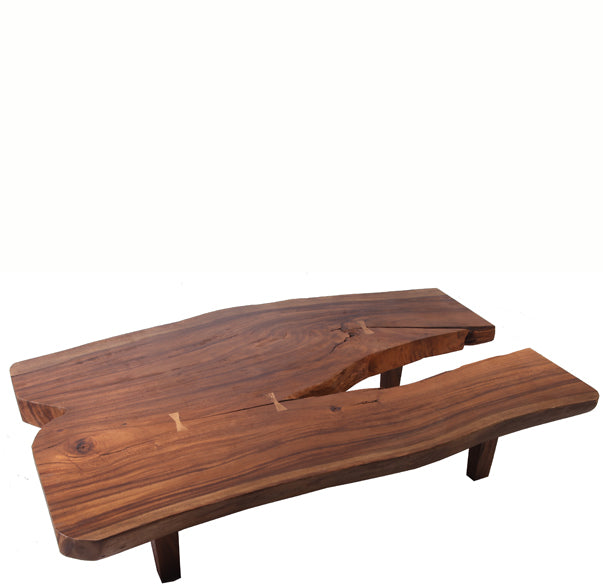 Natural Split End Living Edge Coffee Table 2 - Dyag East
