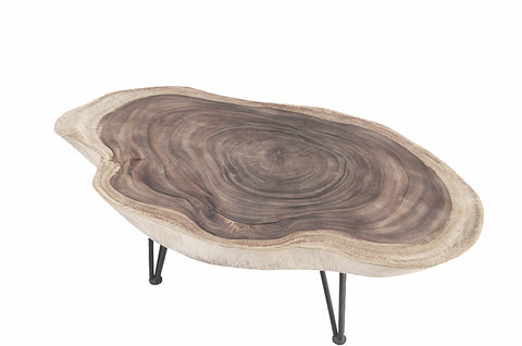Oval Living Edge Coffee Table - Dyag East