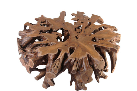 Round Teak Root Coffee Table - Dyag East