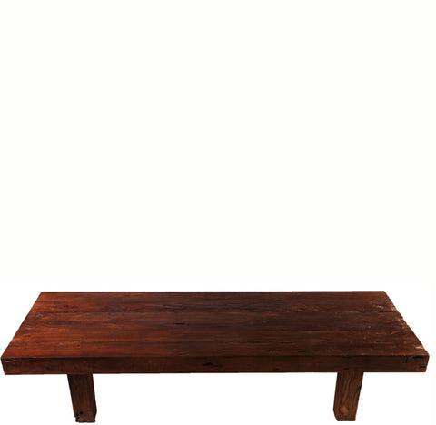 Brown Modern Teak Coffee Table - Dyag East