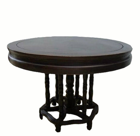Z-Antique Black Dining Table - Dyag East