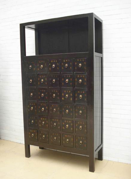 Chinese Antique Herb Medicine Cabinet, Apothecary Cabinet – Dyag East