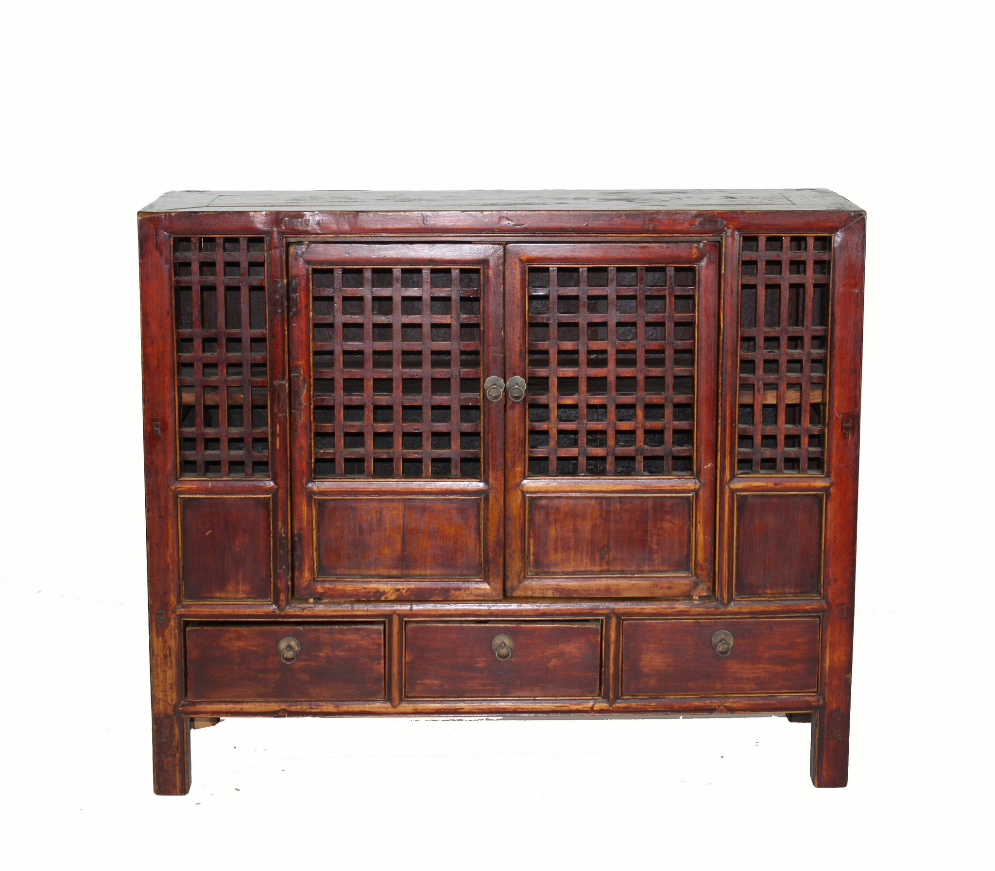 Large Chinese Country Kitchen Cabinet