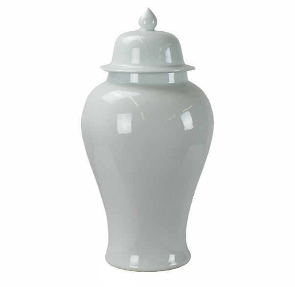 Z-Large White Porcelain Jar - Dyag East