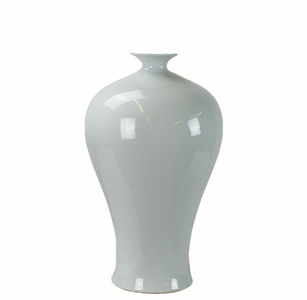 Large White Porcelain Vase - Dyag East