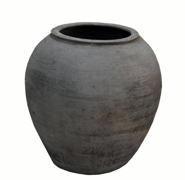 Round Earthware Planter Pot - Dyag East