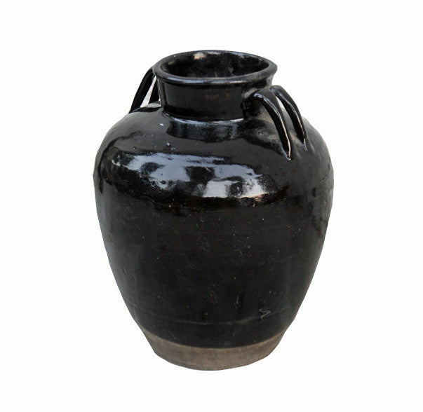 Black Chinese Wine Jar - Dyag East