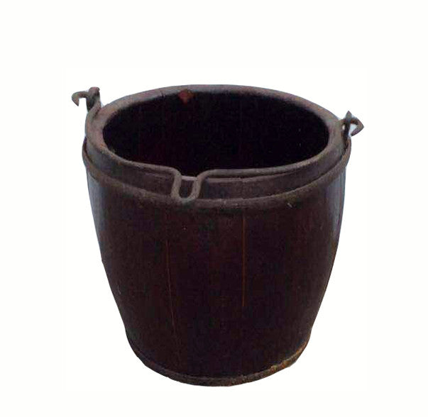 Wood Water Bucket - Dyag East