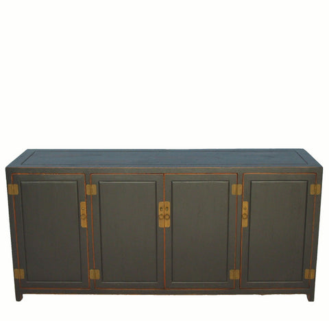 Antique Black Sideboard - Dyag East