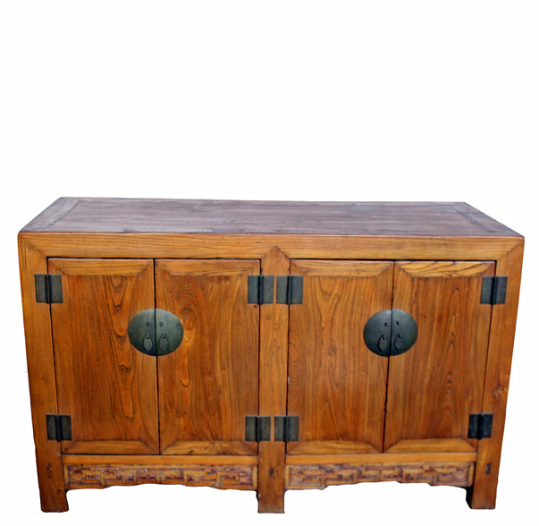 Elm Antique Chinese Sideboard Table - Dyag East
