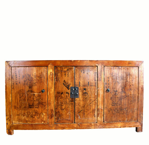 Z-Painted Gansu Sideboard - Dyag East