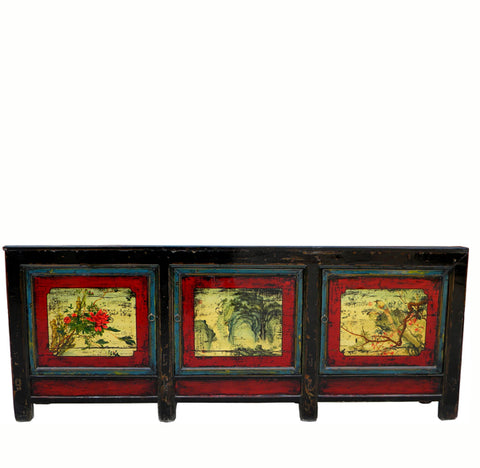 Z-Large Hand Painted Sideboard - Dyag East