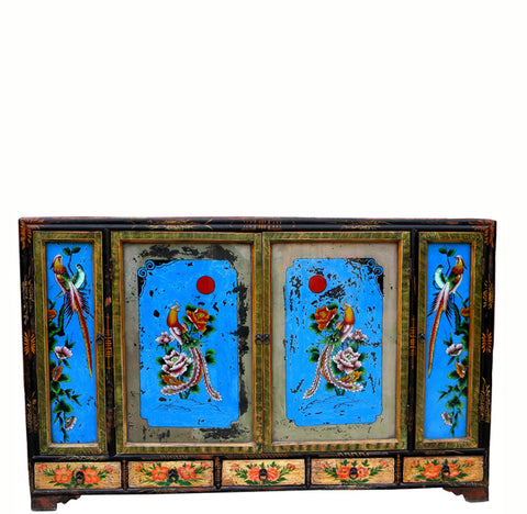 Z-Chinese Chinoiserie-Style Sideboard - Dyag East