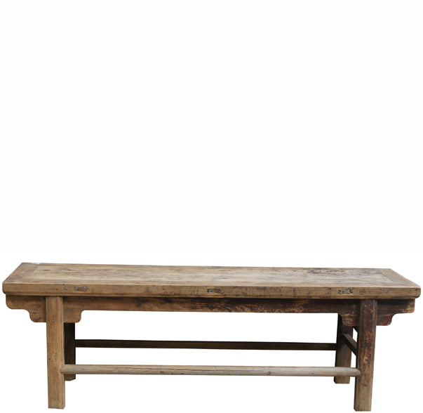 Solid Elm Farmhouse Table - Dyag East