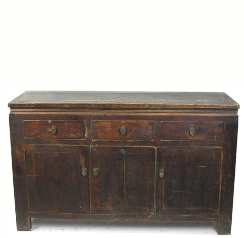 Rustic Countryside Sideboard Buffet Cabinet