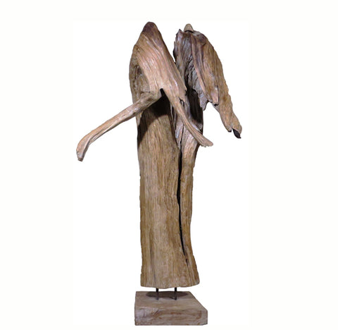 Table Top Organic Teak Root Sculpture 1 - Dyag East
